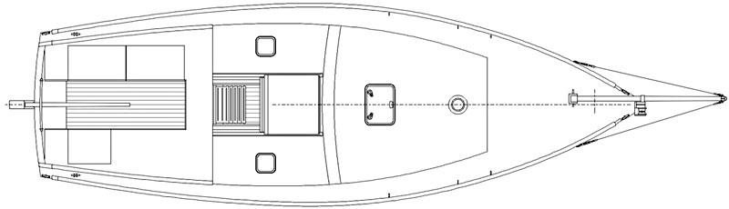 Deben 4.75-Tonner Deck Plan