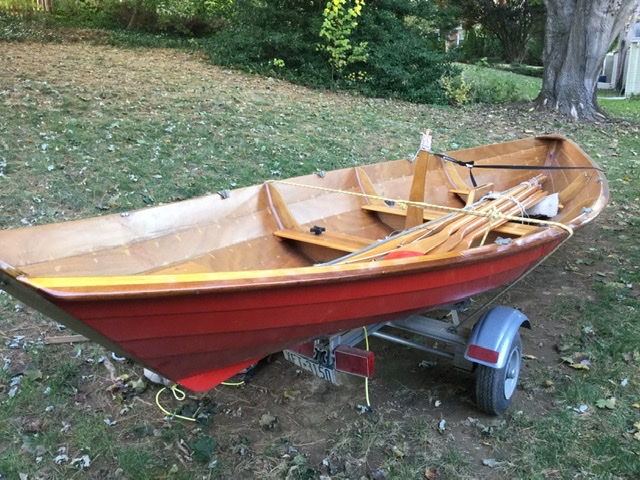 G-PAW'S BOAT, a Chesapeake Light Craft Northeaster Dory.