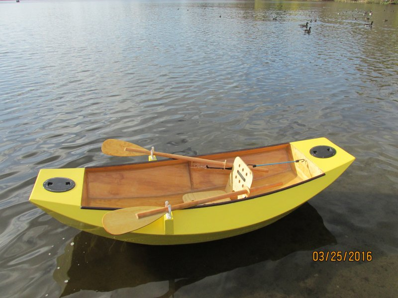 """Mouse Grande"" - 7'6"" (2.34m) two sheet rowboat 