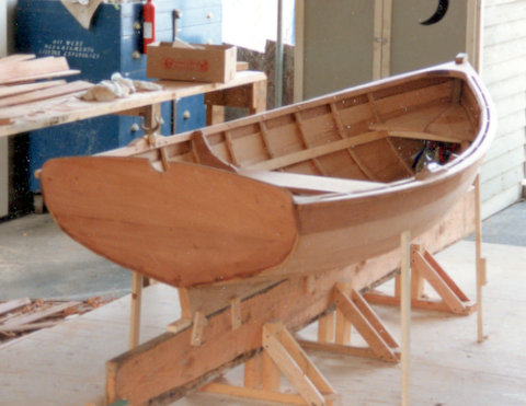 Simon Watts sea urchin wooden dinghy plans
