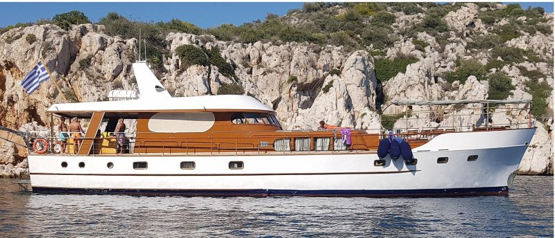 AMANDA ex-YVANCHA. Photo courtesy Classic Yacht Assn.