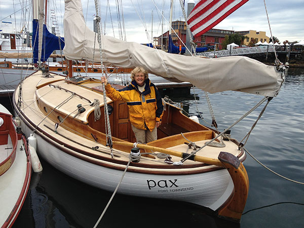 PAX at the Port Townsend Wooden Boat Festival.