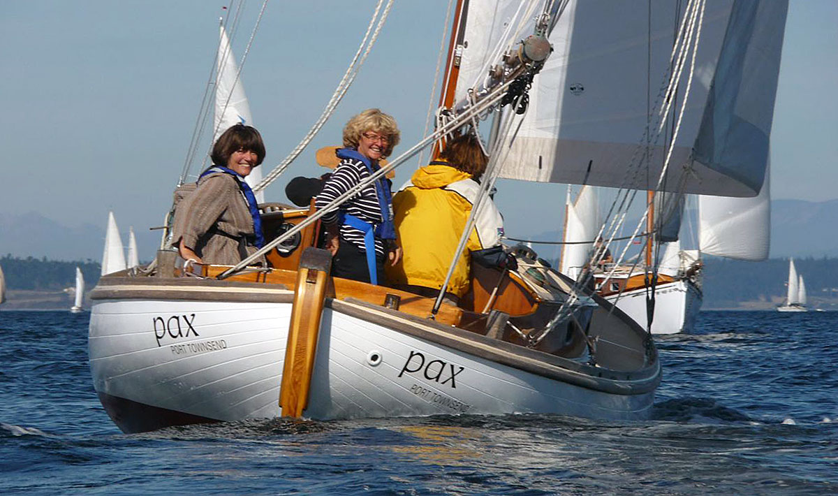 PAX at 2014 Port Townsend Wooden Boat Festival