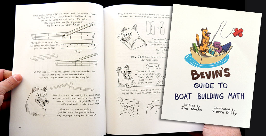 Bevin's Guide to Boat Building Math book