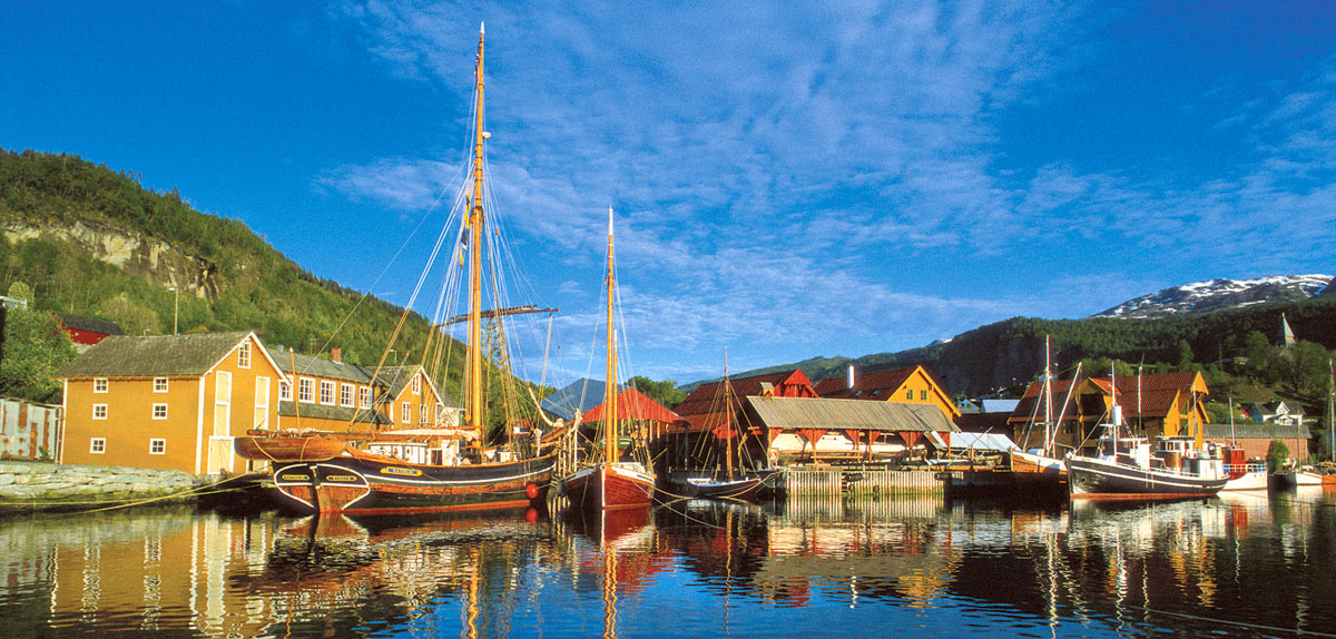 The Hardanger Fartøyvernsenter—Ships Preservation Center