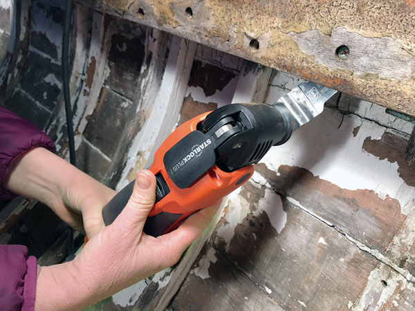 German company Fein oscillating tool.