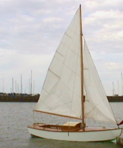 BIBI was built in 1964 by hobbyist Ludvik Zbigniewicz for sailing solo on Lake Winnipeg.