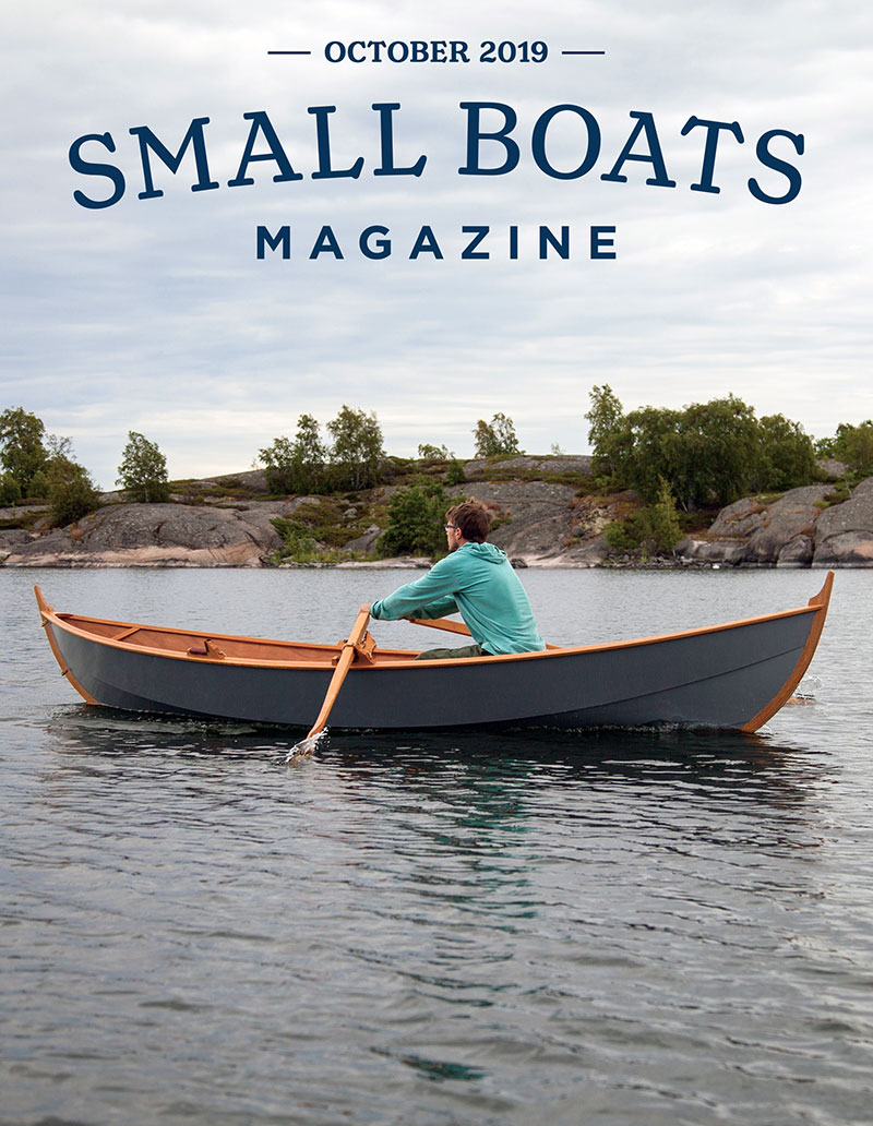 Cover for Small boats Monthly
