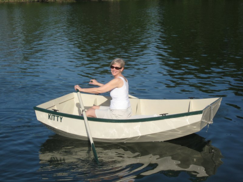 Instant Boat Nymph : Kitty woodenboat magazine
