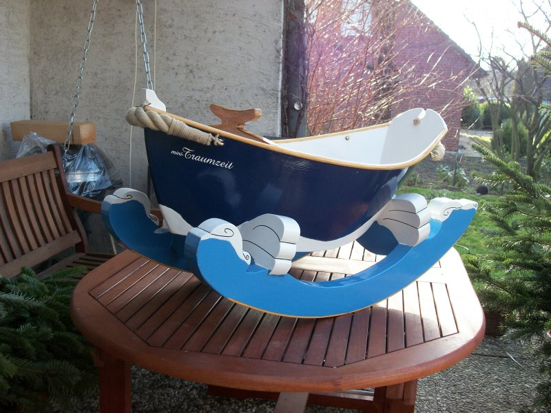 Gloucester Rocker from Port Bow