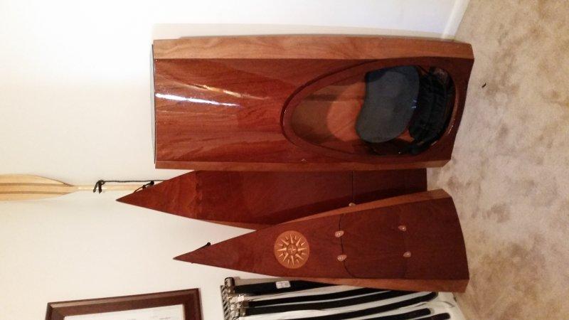 Chesapeake light craft sectional kayak