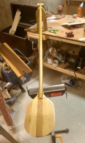 The birdsmouth paddle