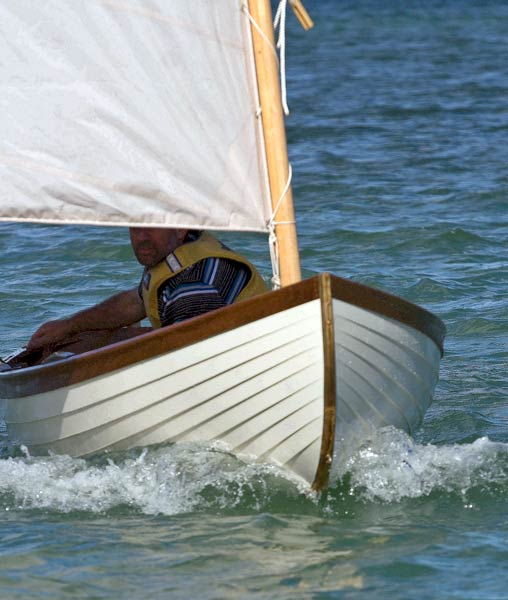 Sail & oar. wooden boat on Pinterest | Dinghy, Rowing and Boat Plans