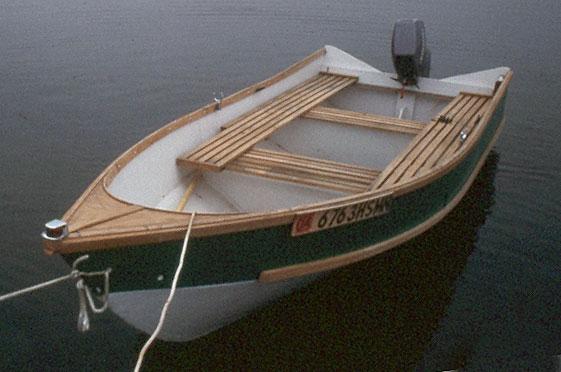 Bolger Diablo Boat : Linda marie woodenboat magazine