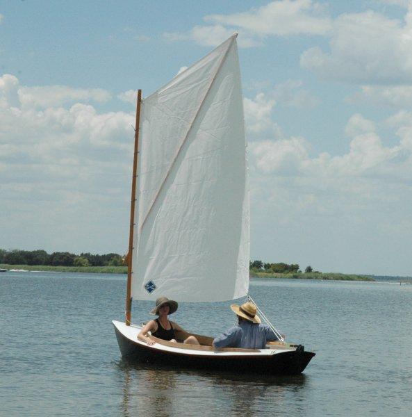 Sprit-rigged catboat