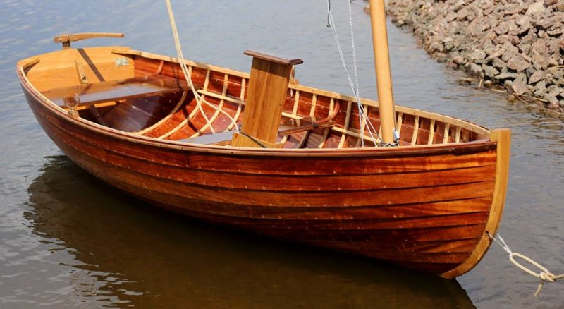 Columbia Dinghy | WoodenBoat Magazine
