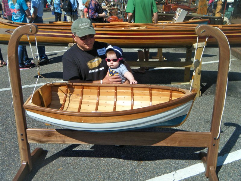 at the 2014 Georgetown Wooden Boat Show