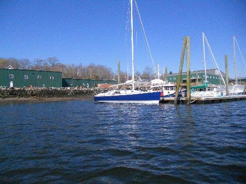 In Stockton Harbor