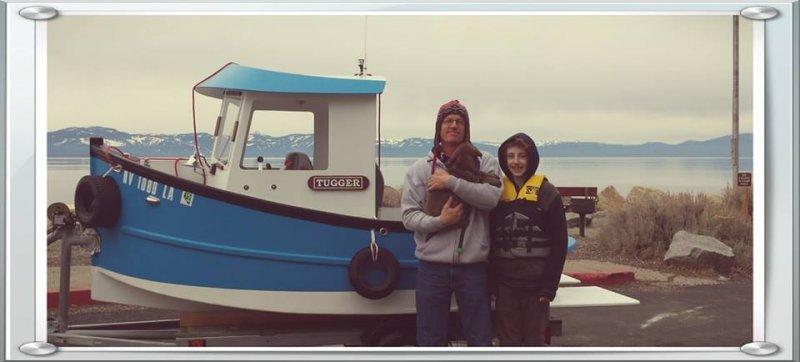 Candu Junior mini tugboat
