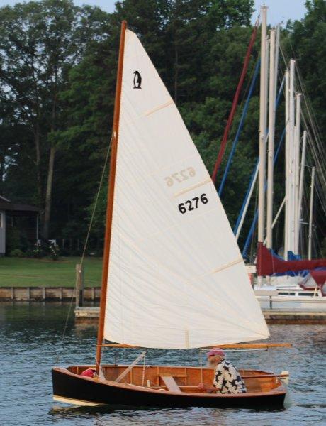 PLAYBOY sailing on Lake Norman