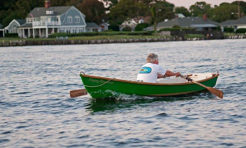 Wayne rowing FLYING ZUCCHINI