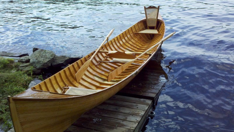 Adirondack Guide Boat Oars | Shaw and Tenney