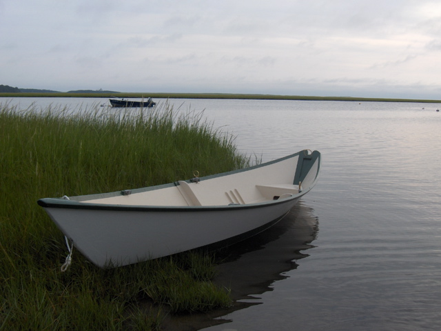 Carl Sylvester built this Gloucester Gull Dory