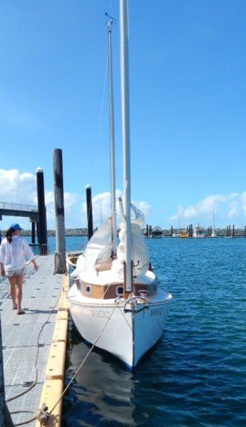 MINOQUA at the dock