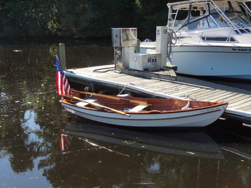 Shellback dinghy.