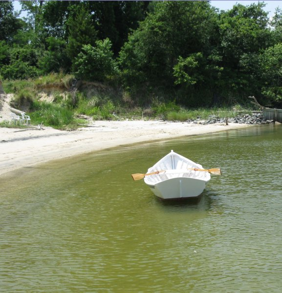 She'll serve as a tender to a restored Virginia Buy Boat