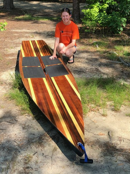 Strip Deck Kaholo Paddleboard