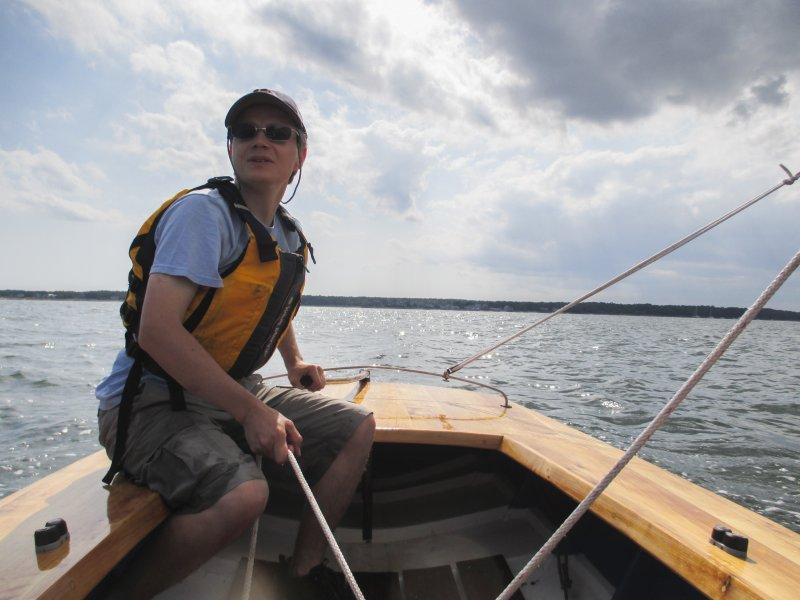 Sailing of the coast of Marion, MA