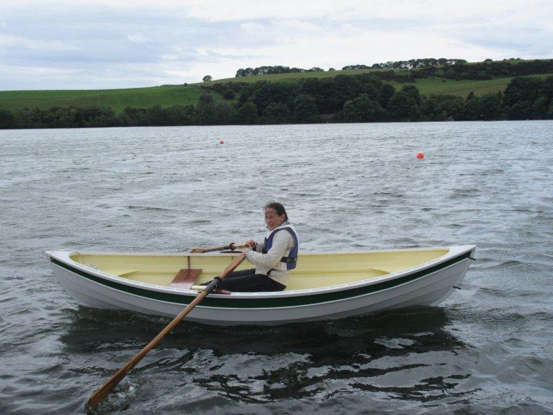 Beach Pea under oars
