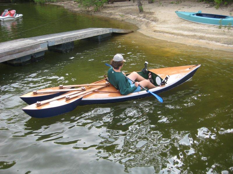 Matthew's Kayak