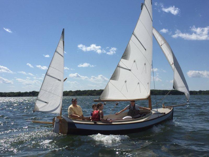 Cruising on Lake Superior.