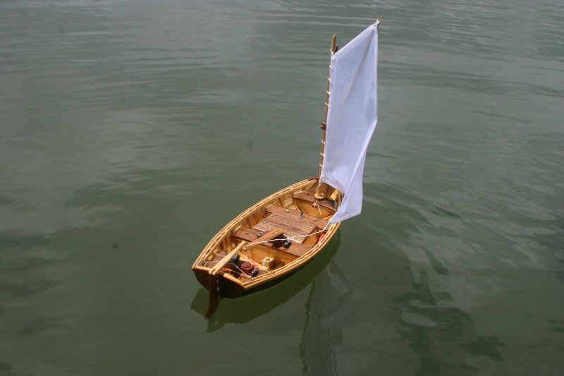 Bob Sack's Catspaw Dinghy model boat
