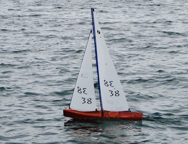 ZOCCOLO under sail