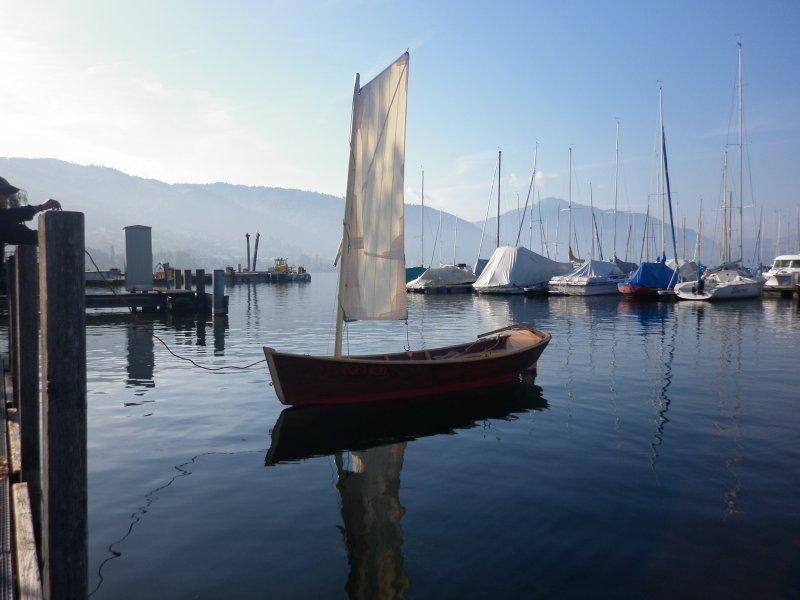 Iain Oughtred Sailing Skiff Spike