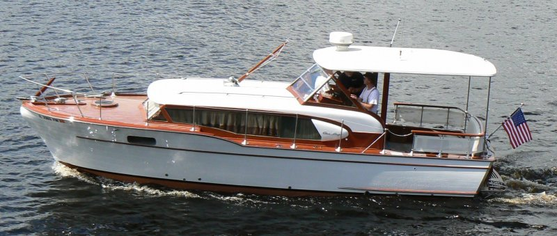 1959 Chris Craft Constellation