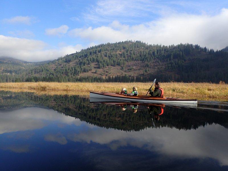 Mill Creek decked canoe