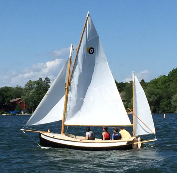 The Welsford Navigator Puffin.