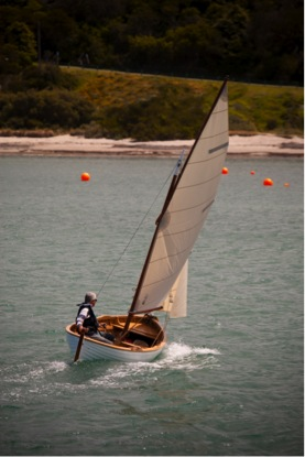 TRIM sailing in Port Phillip Bay, Melbourne, Australia