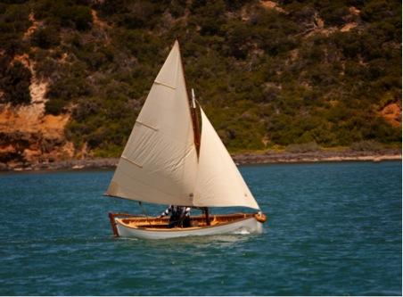 TRIM under sail