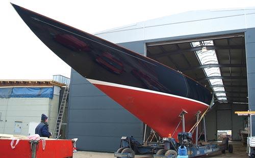 12 Meter class sloop
