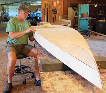 Building the Kaholo Standup Paddleboard