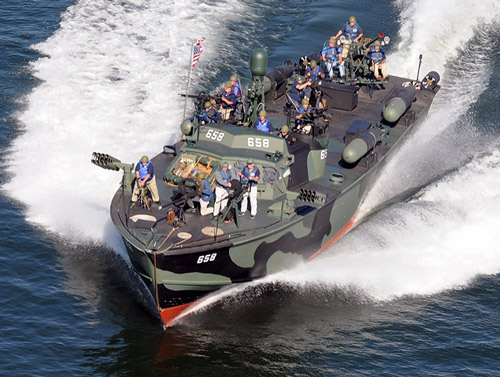 PT-658 is the only restored and fully operational PT boat in the United States.