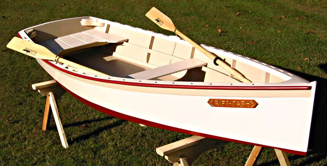 building a wooden skiff