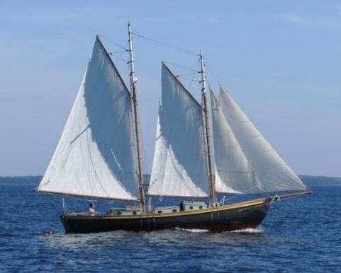 SIMPLICITY, a William H. Hand, Jr./Paul E. Rollins schooner.