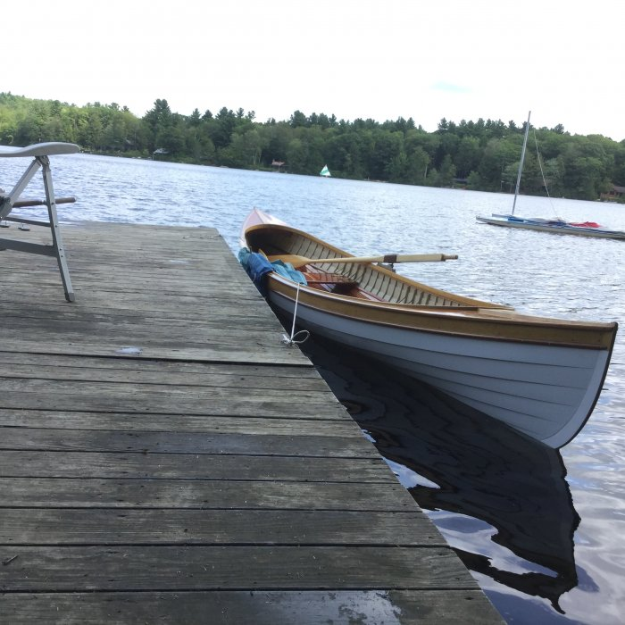 ELIZABETH is a Saint Lawrence River Skiff.