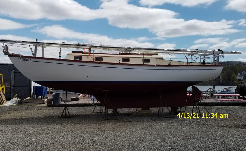 35' Dickerson Ketch for Sale